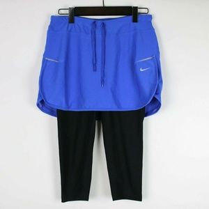 NIKE Dri-Fit Pacer 2-in-1 Skort Leggings XS